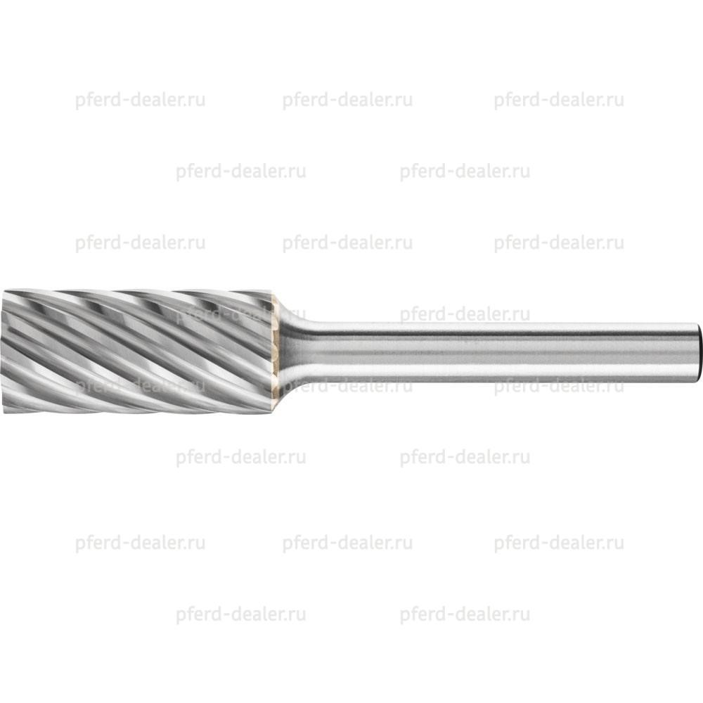 Борфреза твердосплавная INOX, форма ZYA, цилиндр с гладким торцом-img