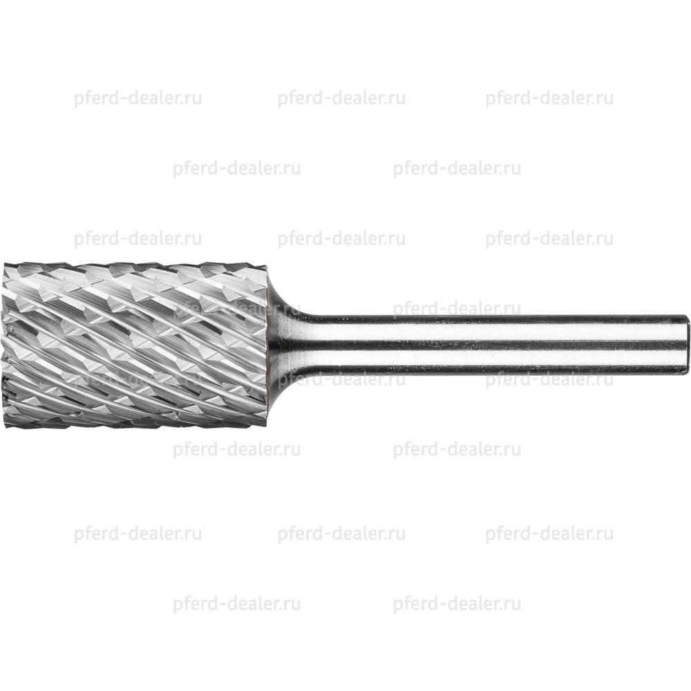 Борфреза твердосплавная ALLROUND, форма ZYAS, цилиндр с торцовыми зубьями-img
