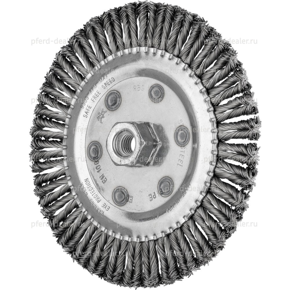 Щетка дисковая плетенная RBG PIPE CT-img