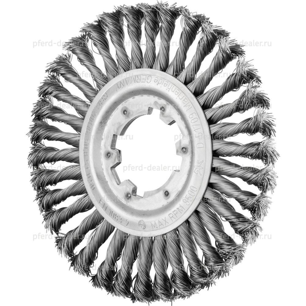 Щетка дисковая плетенная RBG-img