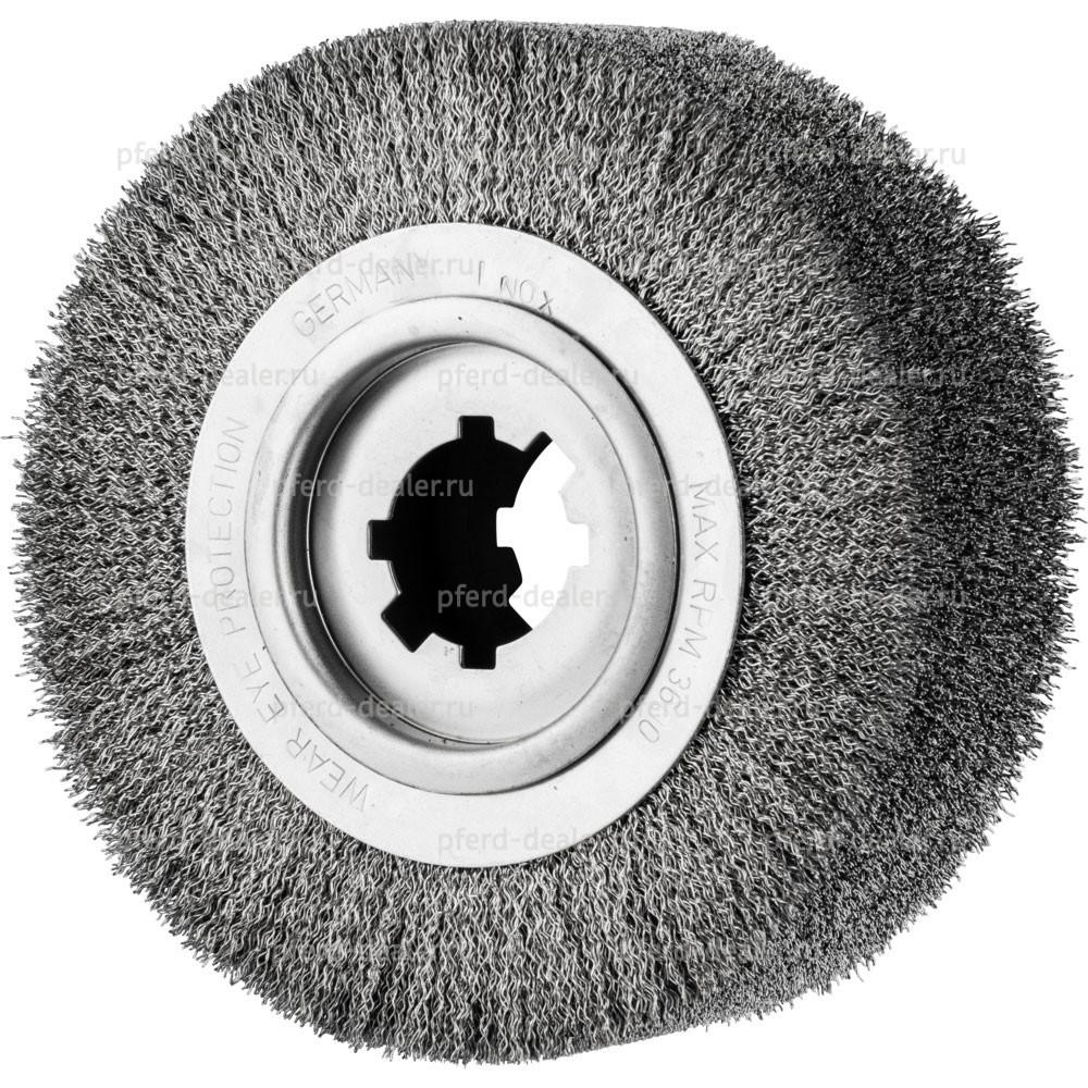 Щетка дисковая неплетенная RBU для снятия заусенцев-img