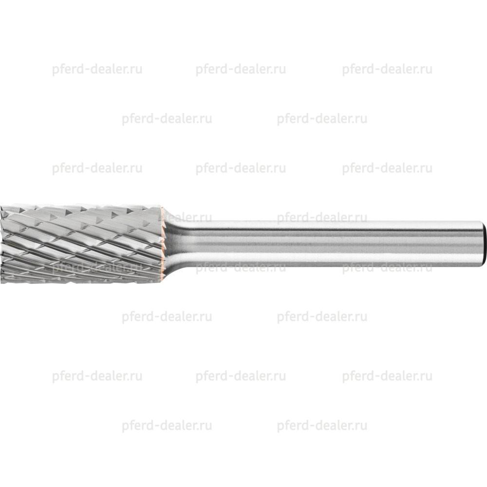 Борфреза твердосплавная, форма ZYAS, цилиндр с торцовыми зубьями-img
