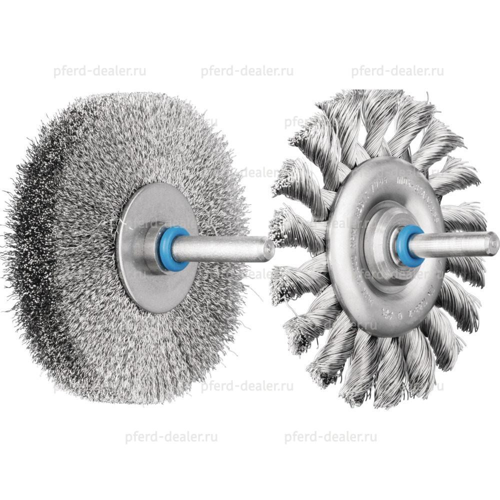 Щетки дисковые с хвостовиком RBUIT / RBGIT-img