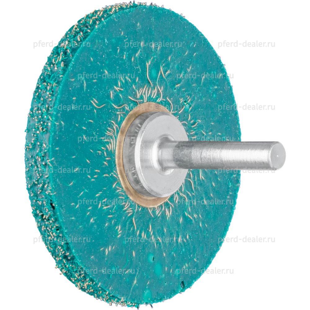 Щетка дисковая неплетеная вулканизированная с хвостовиком RBV-img