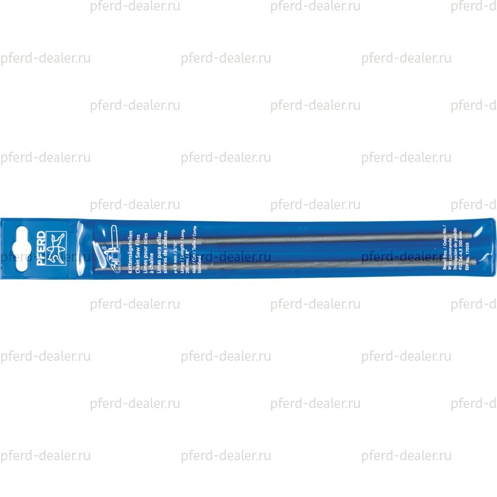 Набор напильников для заточки цепных пил (2шт.) 412-img