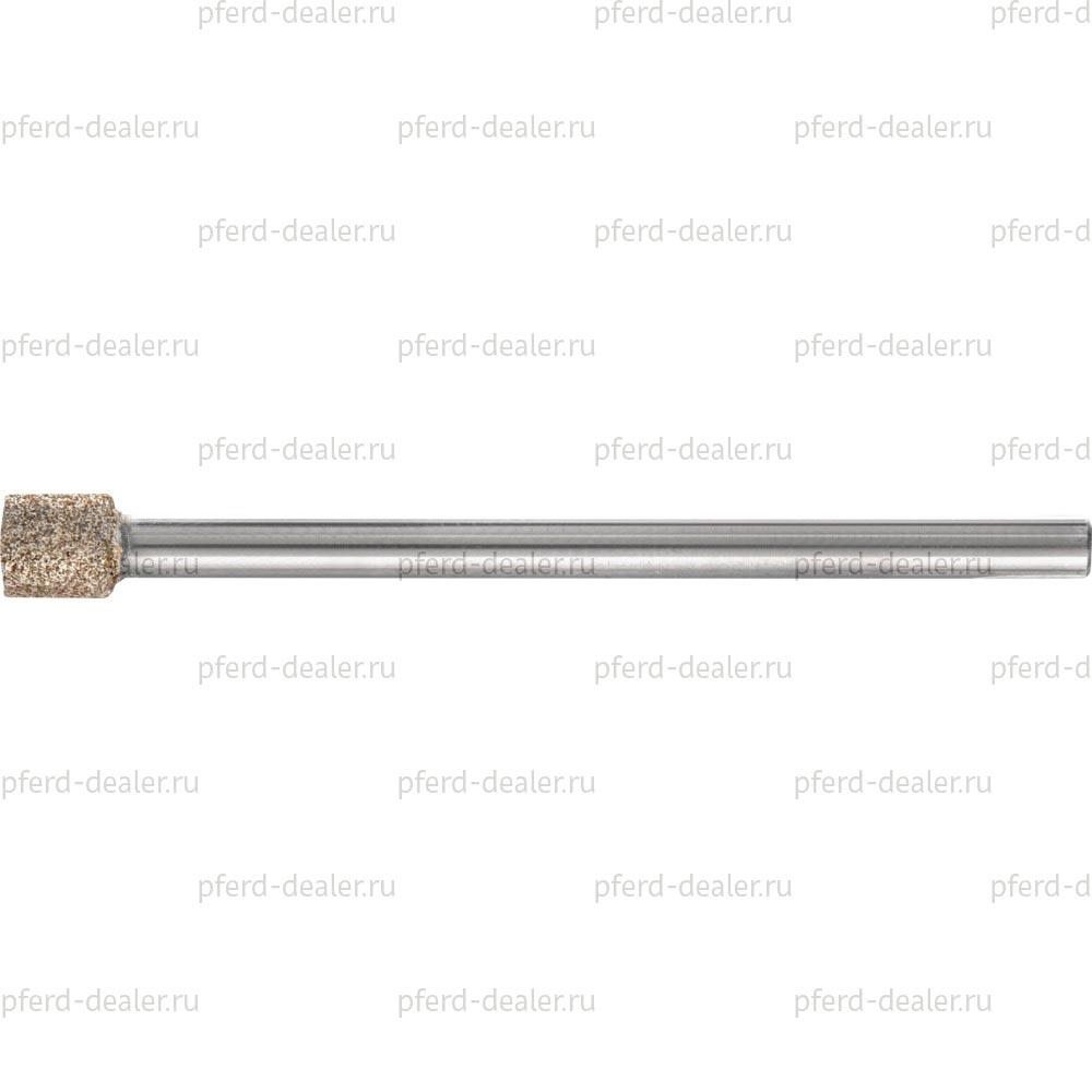 Головка шлифовальная с кубическим нитридом бора CBN и твердосплавным хвостовиком, форма ZY, цилиндрическая-img
